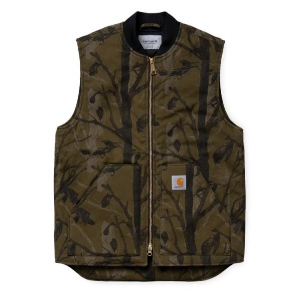 """Carhartt WIP Vest """"Camo Tree, Green"""" I027927"""