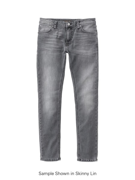 "Nudie Jeans Tight Terry Jeans ""Mid Grey Pew"" 113099"