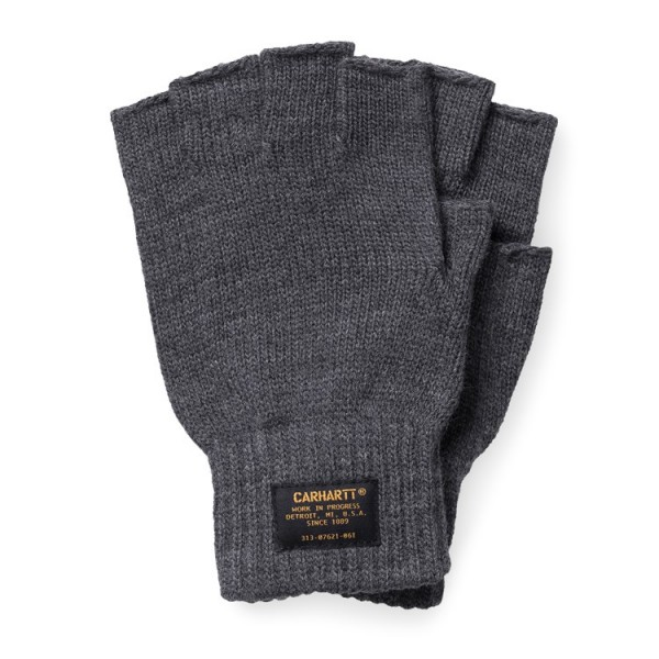 "Carhartt WIP Military Mitten Gloves ""Dark Grey Heather"" I025384"