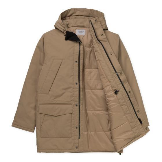 "Carhartt WIP Trent Parka ""Leather"" I028130"