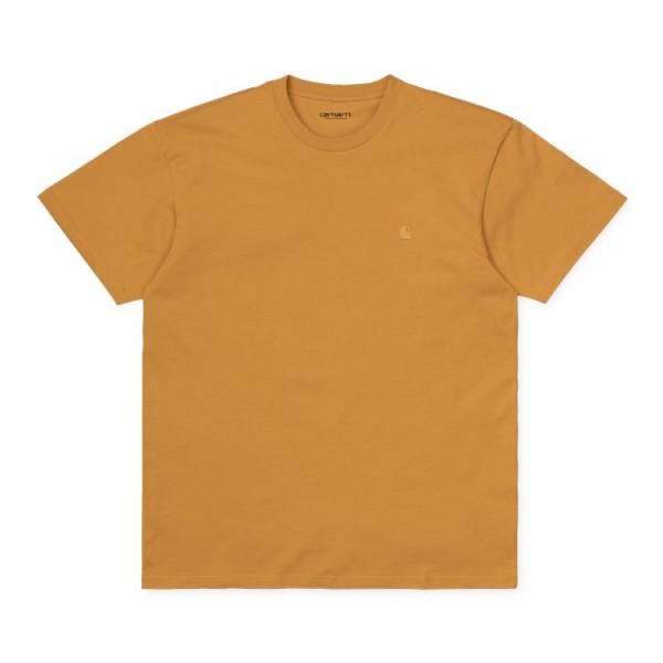 "Carhartt WIP S/S Chase T-Shirt ""Winter Sun / Gold"" I026391"