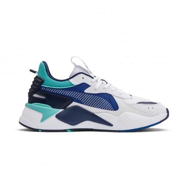 "Puma RS-X Hard Drive ""Puma White-Galaxy Blue"" 369818 02"