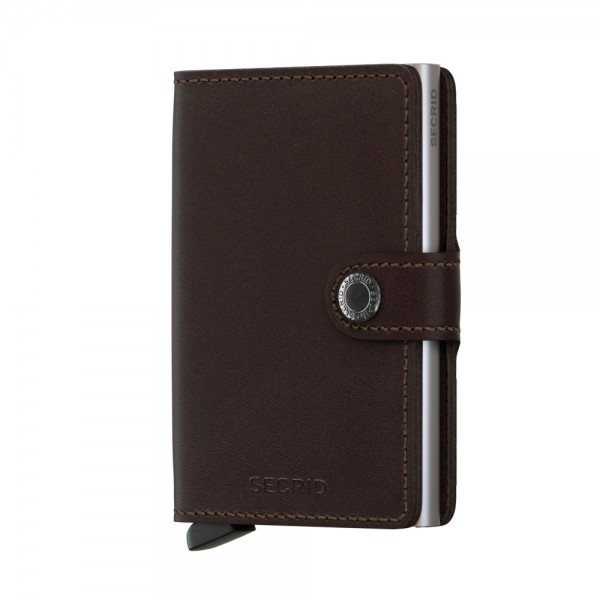 "SECRID Miniwallet Original ""Dark Brown"" 1406"