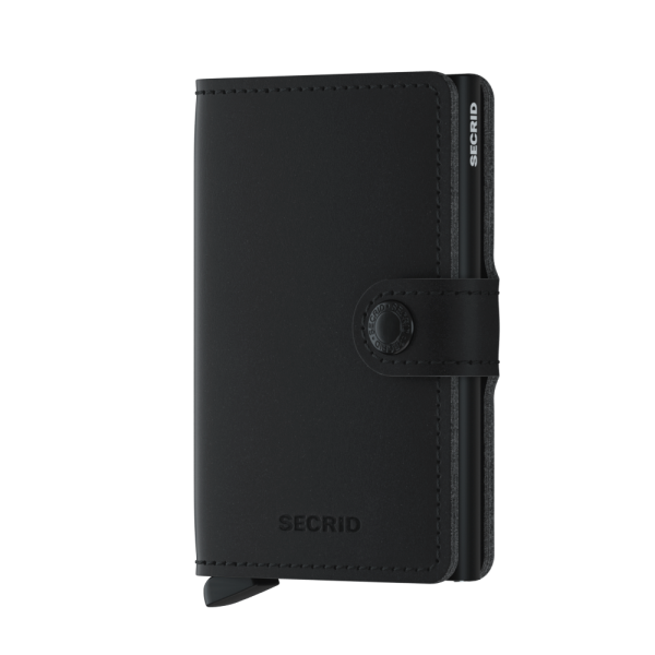 "SECRID Miniwallet Vegan Soft Touch ""Black"""