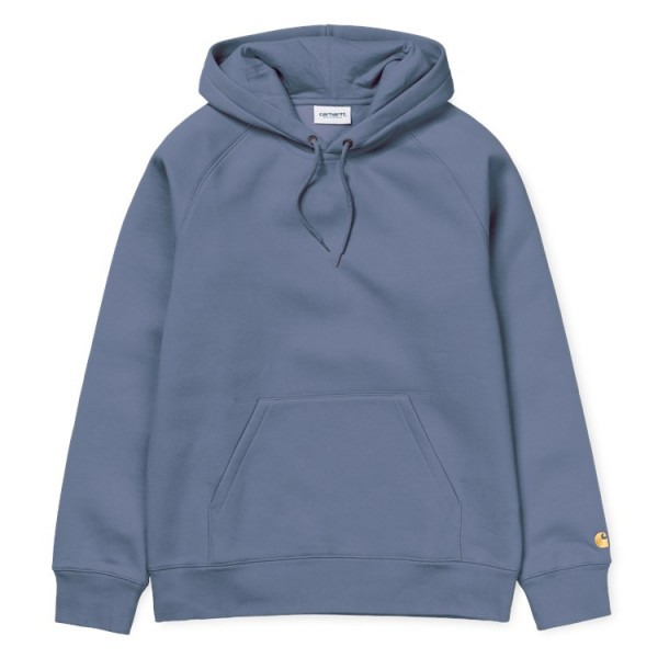 "Carhartt WIP Hooded Chase Sweat ""Mossa/Gold"" I026384"