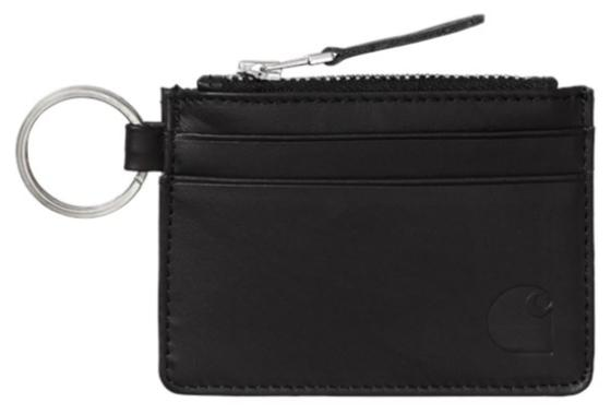 Leather Wallet with m Ring