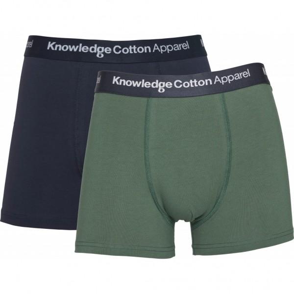 "Knowledge Cotton Maple Underwear 2 Pack ""Pineneedle"" 81071"