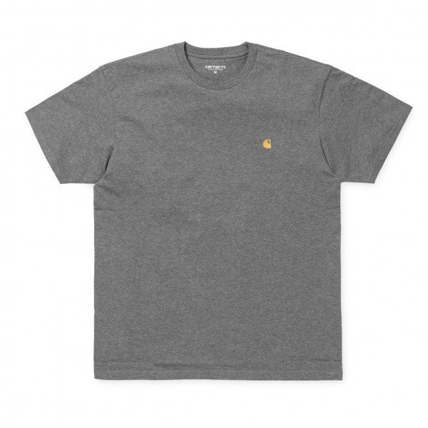 "Carhartt WIP S/S Chase T-Shirt ""Dark Grey Heather"" I026391"