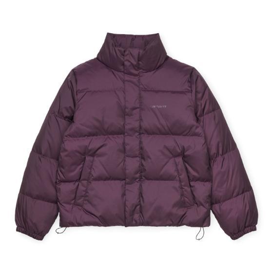 "Carhartt WIP W` Danville Jacket ""Boysenberry / Boysenberry"" I028087"