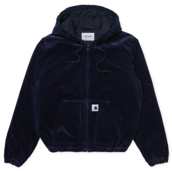 "Carhartt WIP W`Timber Jacket ""Dark Navy Rinsed"" I028670"