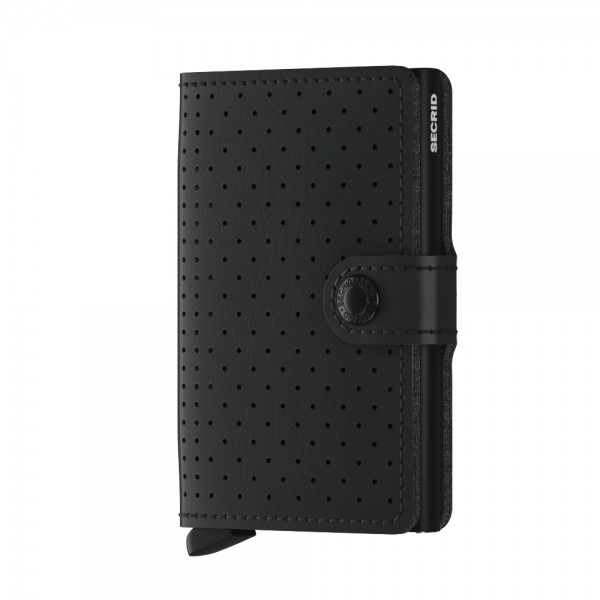 "SECRID Miniwallet Perforated ""Black"""