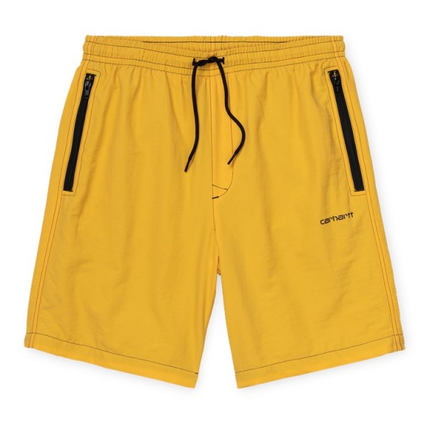 "Carhartt WIP Kastor Short ""Sunflower / Black"" I027630"