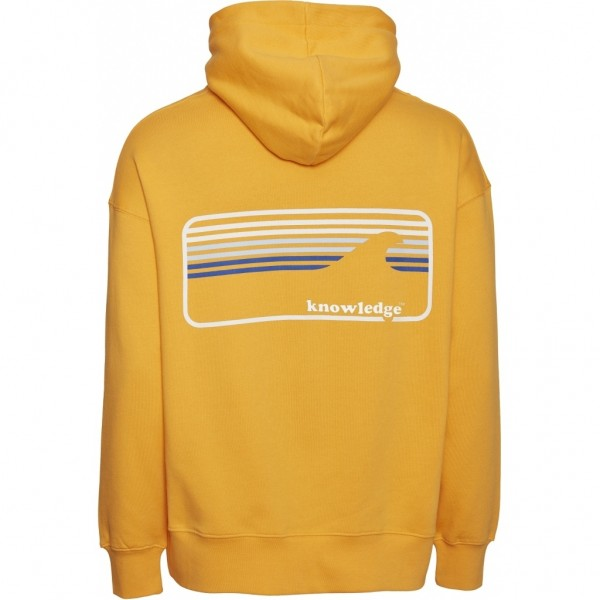 "Knowledge Cotton Elm Signature Wave Hoodie ""Zennia Yellow"" 30479"