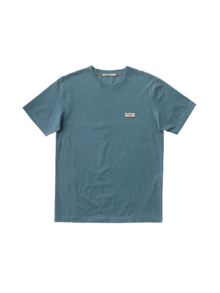 """Nudie Jeans Daniel Tee """"Petrol Blue"""" 131613"""
