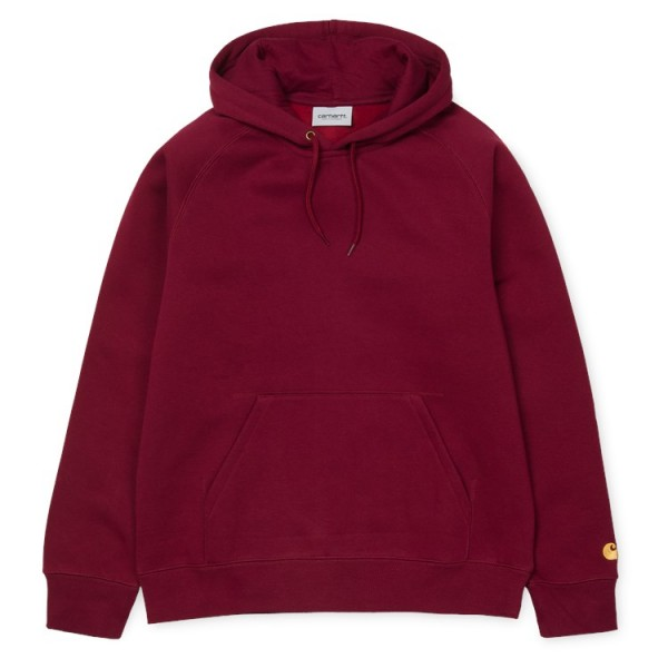 "Carhartt Hooded Chase Sweat ""Cranberry"" I026384"
