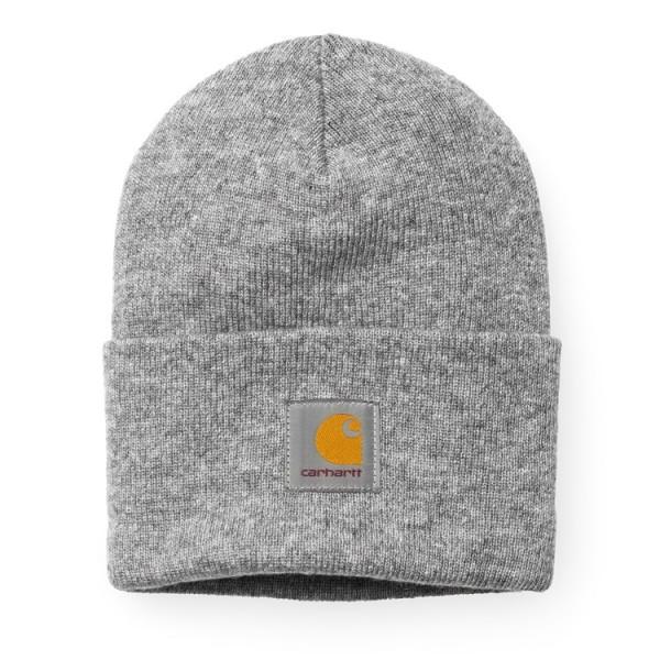"Carhartt WIP Acrylic Watch Hat ""Grey Heather"" I020175"