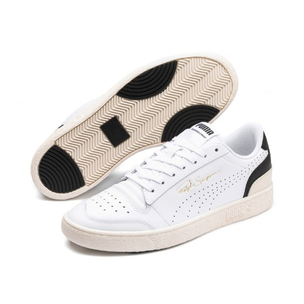 "Puma Ralph Sampson Lo Perf Soft ""Puma White-Black Whisper Wht "" 372395-03"