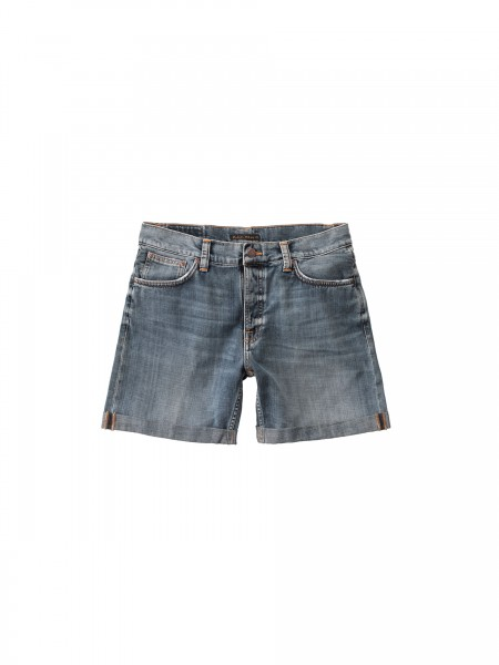 "Nudie Jeans Josh Shorts ""Indigo Flow"" 113354"