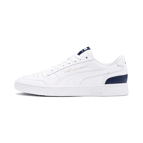 "Puma Ralph Sampson Lo ""White-Peacoat-Puma White"" 370846 02"