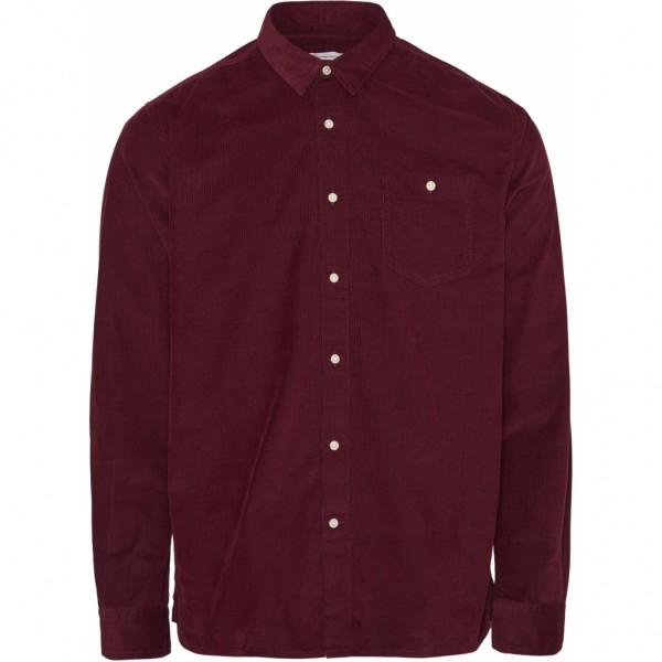 Elder Regular Fit Baby Cord Shirt