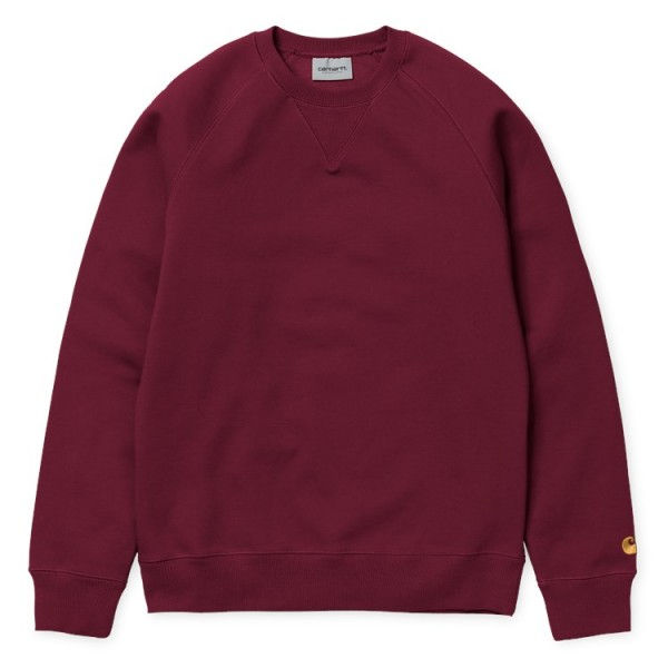 "Carhartt WIP Chase Sweat ""Mulberry"" I026383"