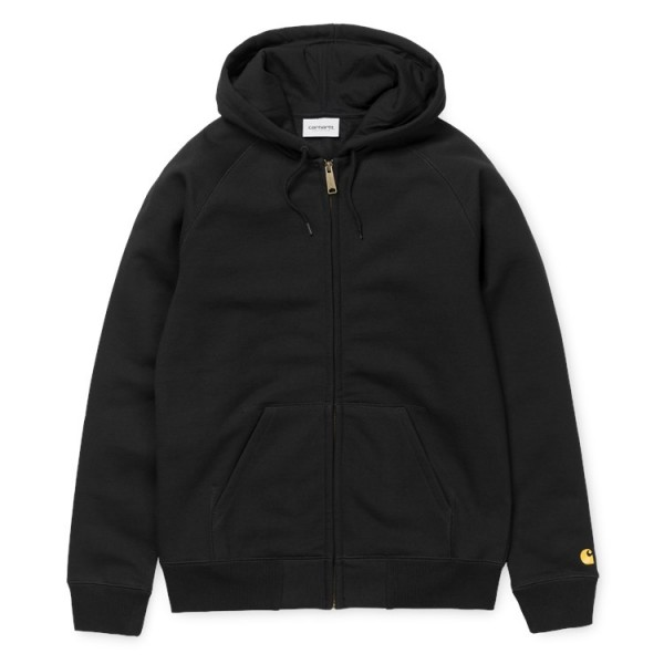 "Carhartt WIP Hooded Chase Jacket ""Black"" I026385"
