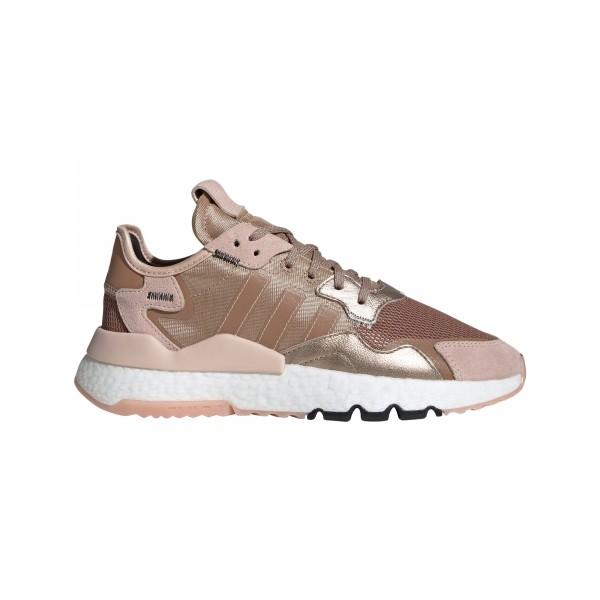 "adidas Nite jogger W ""rose gold met./vapour pink/core black"" EE5908"