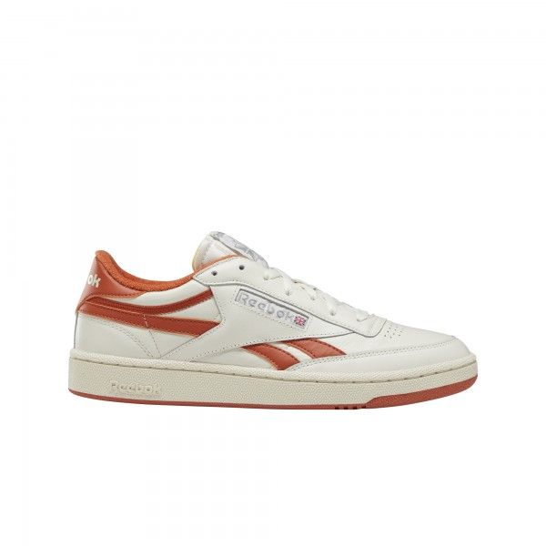 "REEBOK Club C Revenge Plus ""CHALK/MARS DUST/WHITE/GRY"" DV7186"