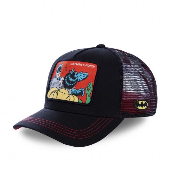 "CAPSLAB Baseball Cap BATMAN & ROBIN ""Black"" CL/DC2/1/MEM2"