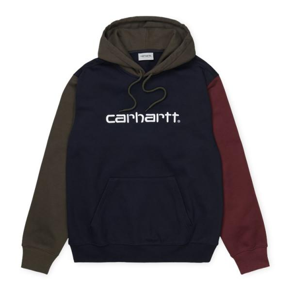 "Carhartt WIP Hooded Carhartt Tricol Sweat ""Dark Navy"" I028353"
