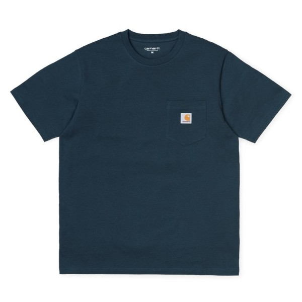 "Carhartt WIP S/S Pocket T-Shirt ""Duck Blue"" I022091"