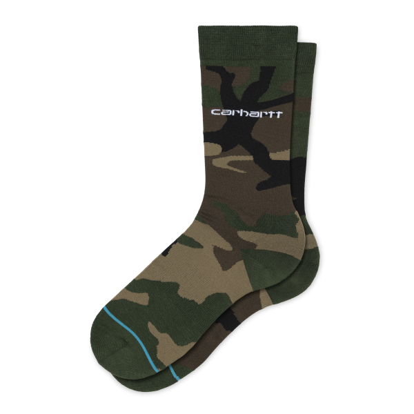 "Carhartt WIP X Stance Camo Laurel Socks ""Camo Laurel"" I027800"