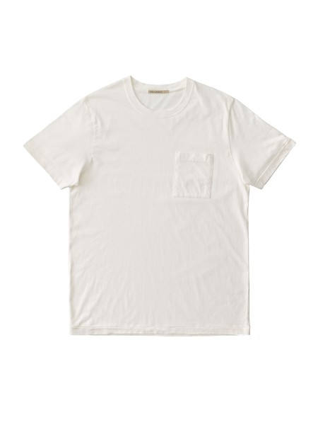 "Nudie Jeans Roy One Pocket Tee ""Offwhite"" 131687"