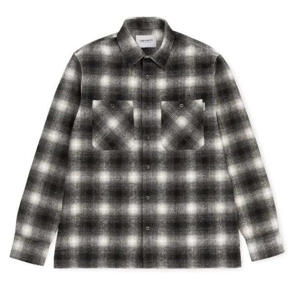"Carhartt WIP L/S Halleck Shirt ""Halleck Check/Black"" I025240"