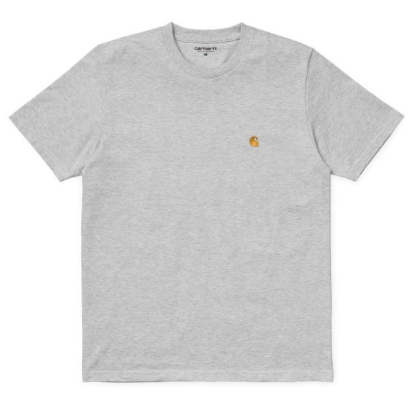 "Carhartt WIP S/S Chase T-Shirt ""Ash Heather"" I026391"