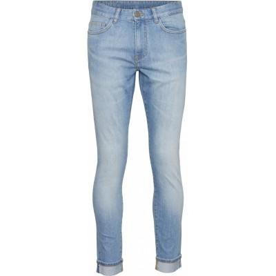 """Knowledge Cotton Fir light blue selvedge denim """"light blue"""" 70263"""