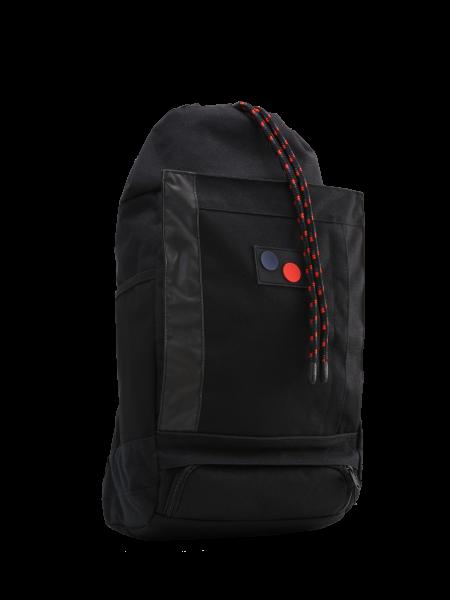 "pinqponq Blok Medium Backpack ""Licorice Black Bold"" PPC-BLM-002-801"