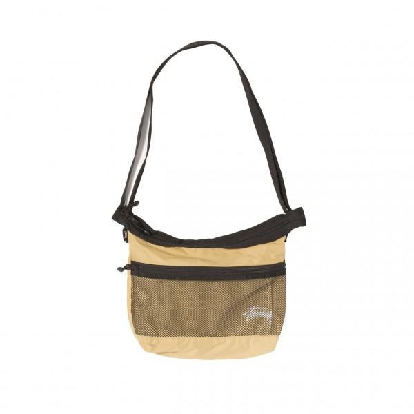 """Stussy Light Weight Shoulder Bag """"Gold"""" 134212 / 0205"""