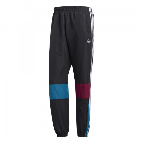 """adidas ASYMM TRACK PANT """"carbon/active teal/berry"""" ED6245"""