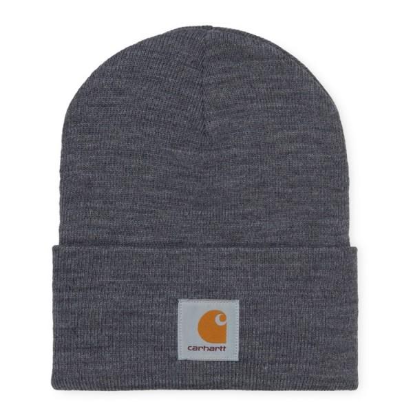 "Carhartt WIP Acrylic Watch Hat ""Dark Grey Heather"" I020175"