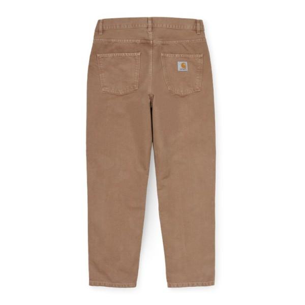 "Carhartt WIP Newel Pant ""Hamilton Brown worn canvas"" I028626"