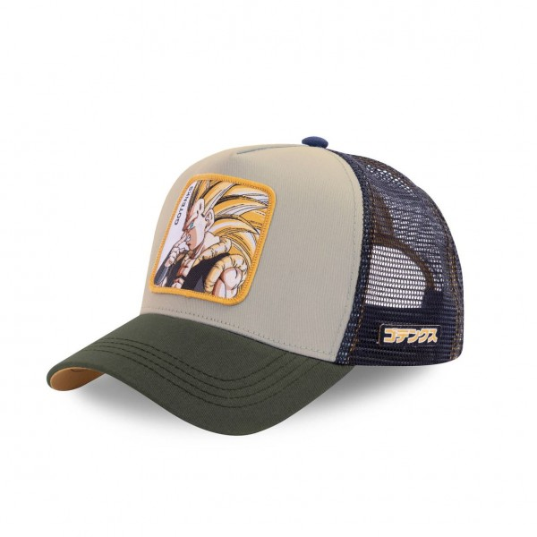 "CAPSLAB Baseball Cap GOTENKS ""Grey"" CL/DBZ/1/GOT1"