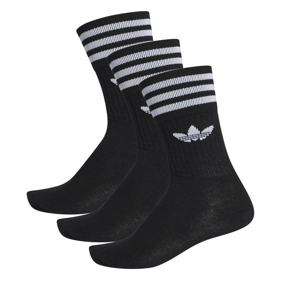 "adidas Solid Crew Sock ""black / white"" S21490"