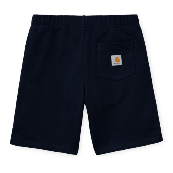 "Carhartt WIP Pocket Sweat Short ""Dark Navy"" I027698"