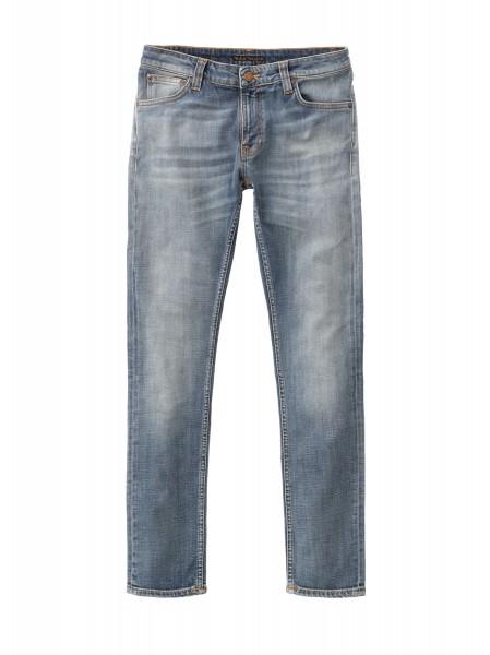 "Nudie Jeans Skinny Lin Jeans ""Misty Blue"" 113183"