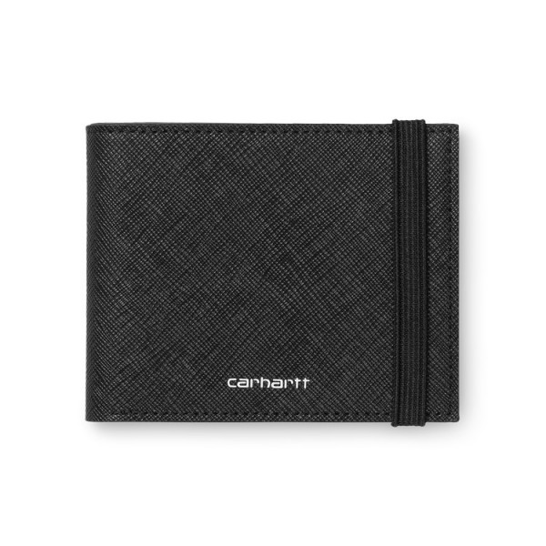 "Carhartt WIP Coated Billfold Wallet ""Black / White"" I026210"
