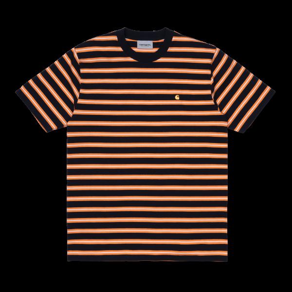 """Carhartt WIP S/S Oakland T-Shirt """"Dark Navy / Po"""" I027731"""