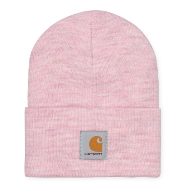 """Carhartt WIP Acrylic Watch Hat """"Frosted Pink Heather"""" I020175"""