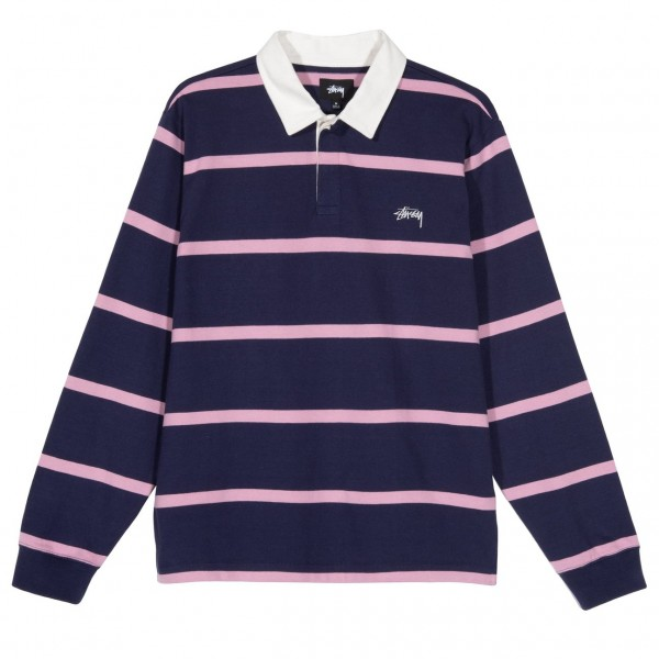 Hill Stripe LS Rugby