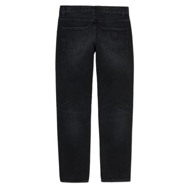"Carhartt WIP Klondike Pant ""Black mid worn wash"" I024945"